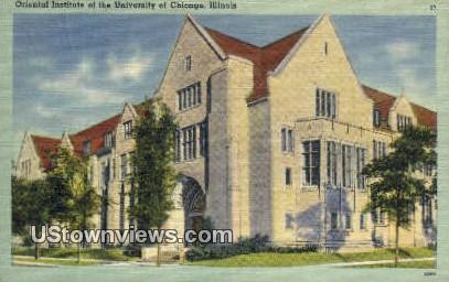 Oriental Institute of the University of Chicago - Illinois IL Postcard