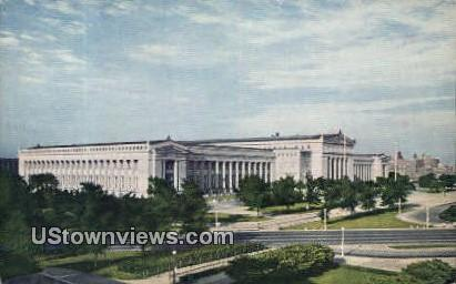 Chicago Natural History Museum - Illinois IL Postcard