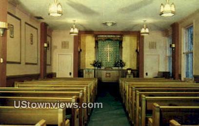 Dixon Chapel, Chicago Temple - Illinois IL Postcard