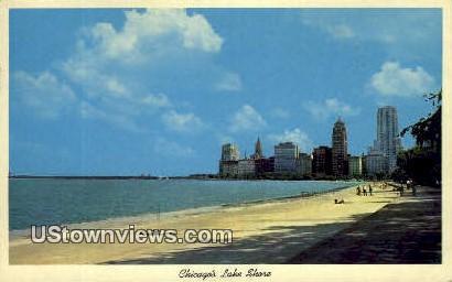 Chicago's Lake Shore - Illinois IL Postcard