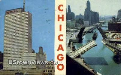 Prudential Bldg - Chicago, Illinois IL Postcard