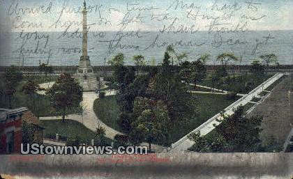 Douglas Monument - Chicago, Illinois IL Postcard