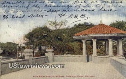 New Refectory, Garfield Park - Chicago, Illinois IL Postcard