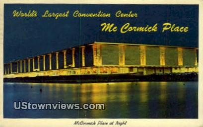 McCormick Place - Chicago, Illinois IL Postcard