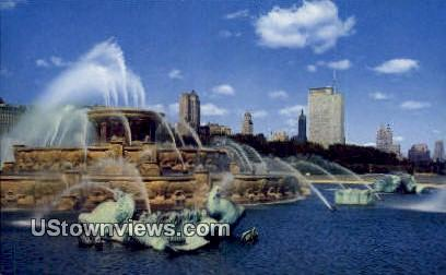Buckingham Fountain - Chicago, Illinois IL Postcard