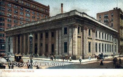 Illinois Trust Co - Chicago Postcard