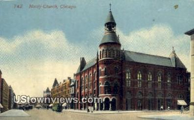 Moody Church - Chicago, Illinois IL Postcard