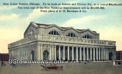 New Union Station - Chicago, Illinois IL Postcard