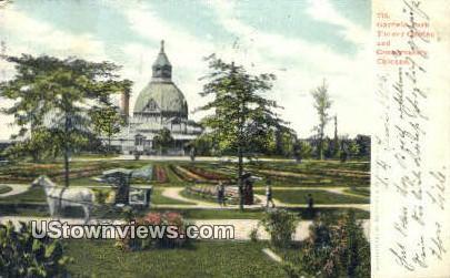 Garfield Park - Chicago, Illinois IL Postcard