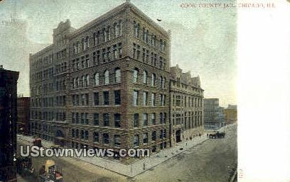 Cook County Jail - Chicago, Illinois IL Postcard