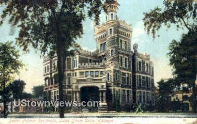 Potter Palmer Residence - Chicago, Illinois IL Postcard