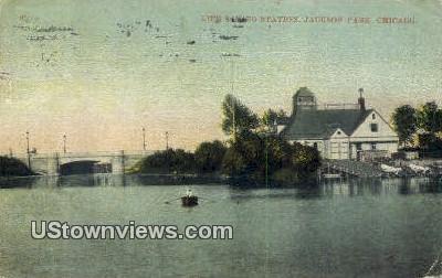 Life Saving Station, Jackson Park - Chicago, Illinois IL Postcard
