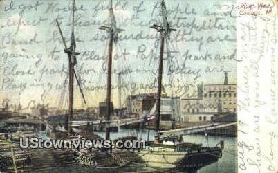 River View - Chicago, Illinois IL Postcard