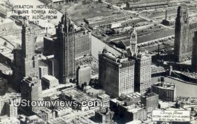 Printed Photo - Sheraton Hotel - Chicago, Illinois IL Postcard