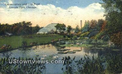 Conservatory, Lincoln Park - Chicago, Illinois IL Postcard