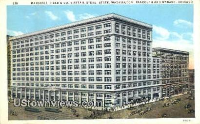 Marshall Field & Co's Store - Chicago, Illinois IL Postcard