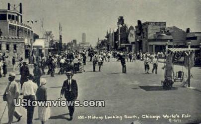 World's Fair 1933 - Chicago, Illinois IL Postcard