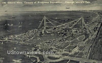 Century of Progress Exposition - Chicago, Illinois IL Postcard