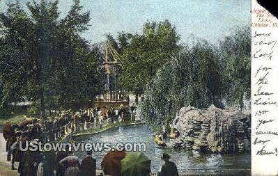 Lincoln Park, Sea Lions - Chicago, Illinois IL Postcard
