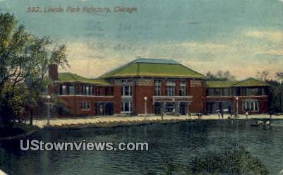 Lincoln Park Refectory - Chicago, Illinois IL Postcard