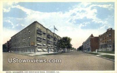 Hotel Grasmere - Chicago, Illinois IL Postcard