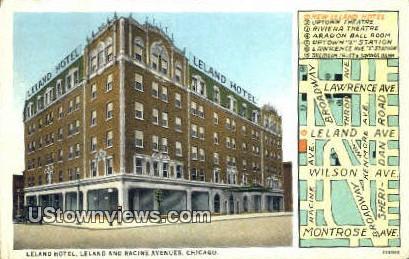 Leland Hotel - Chicago, Illinois IL Postcard