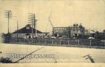 Chicago Bridge & Iron Works - Illinois IL Postcard