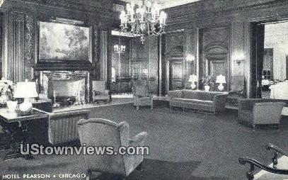 Hotel Pearson - Chicago, Illinois IL Postcard