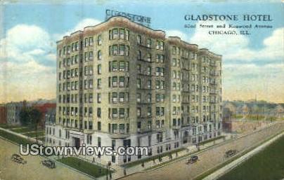 Gladstone Hotel - Chicago, Illinois IL Postcard