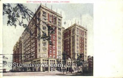 Cooper Carlton Hotel - Chicago, Illinois IL Postcard