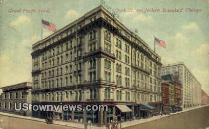 Grand Pacific Hotel - Chicago, Illinois IL Postcard