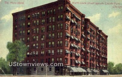 Plaza Hotel - Chicago, Illinois IL Postcard