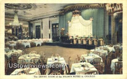 Empire Room, Palmer House - Chicago, Illinois IL Postcard