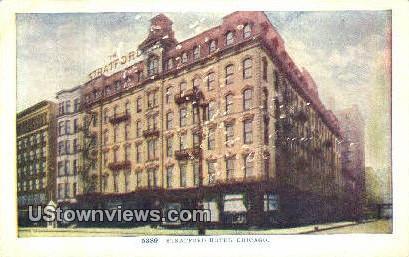 Stratford Hotel - Chicago, Illinois IL Postcard