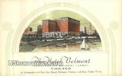 Hotel Belmont - Chicago, Illinois IL Postcard