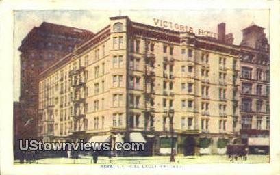 Victoria Hotel - Chicago, Illinois IL Postcard