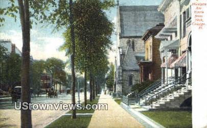 Michigan Ave - Chicago, Illinois IL Postcard