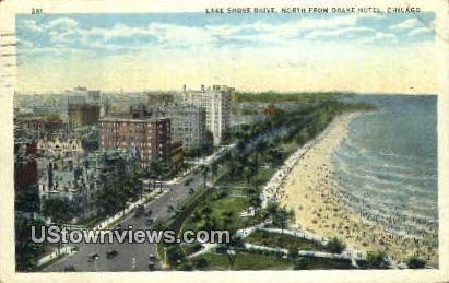 Lake Shore Drive - Chicago, Illinois IL Postcard