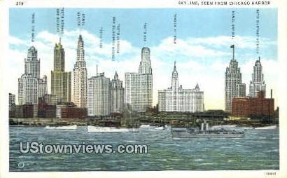 Chicago, Illinois,     ;     Chicago, IL Postcard