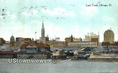 Lake Front - Chicago, Illinois IL Postcard