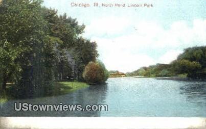North Pond, Lincoln Park - Chicago, Illinois IL Postcard
