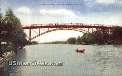 High Bridge, Lincoln Park - Chicago, Illinois IL Postcard