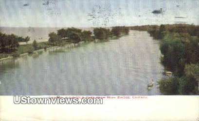 Lagoon, Lincoln Park - Chicago, Illinois IL Postcard