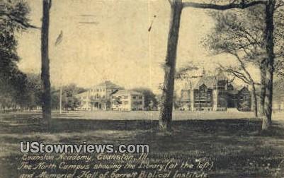 Evanston Academy - Illinois IL Postcard
