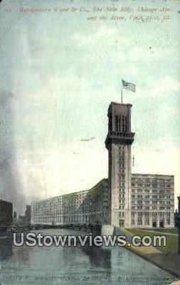 Montgomery Ward & Co - Chicago, Illinois IL Postcard