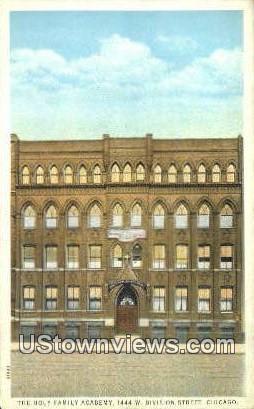 Holy Family Academy - Chicago, Illinois IL Postcard