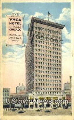 YMCA Hotel - Chicago, Illinois IL Postcard