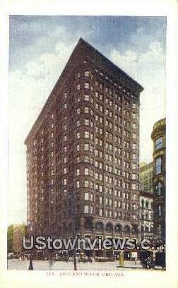 Ashland Block - Chicago, Illinois IL Postcard