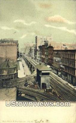 Wabash Ave - Chicago, Illinois IL Postcard