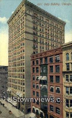 Unity Bldg - Chicago, Illinois IL Postcard